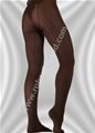 Ajour tights of organic cotton